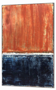 "Robert Tillberg Terra Cotta Blues | 48""x30"""