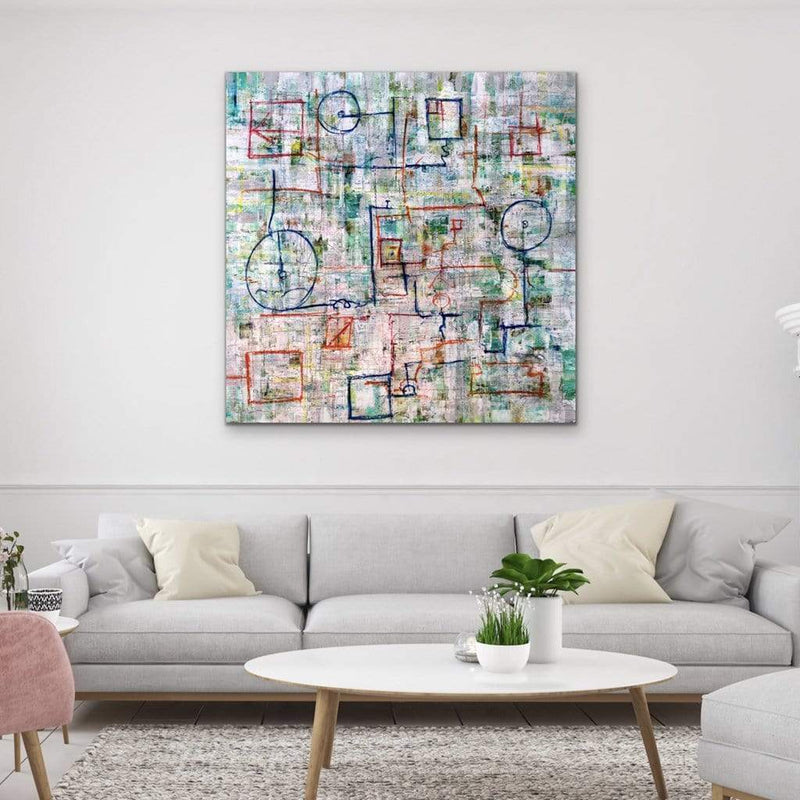 "The Escape | 48""x48"""