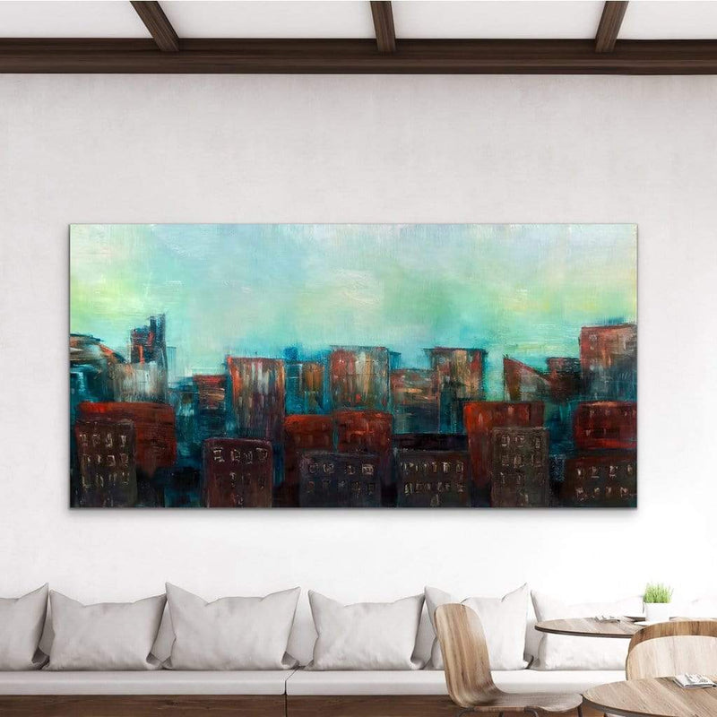 "Top Of The Morning | 78""x38"""