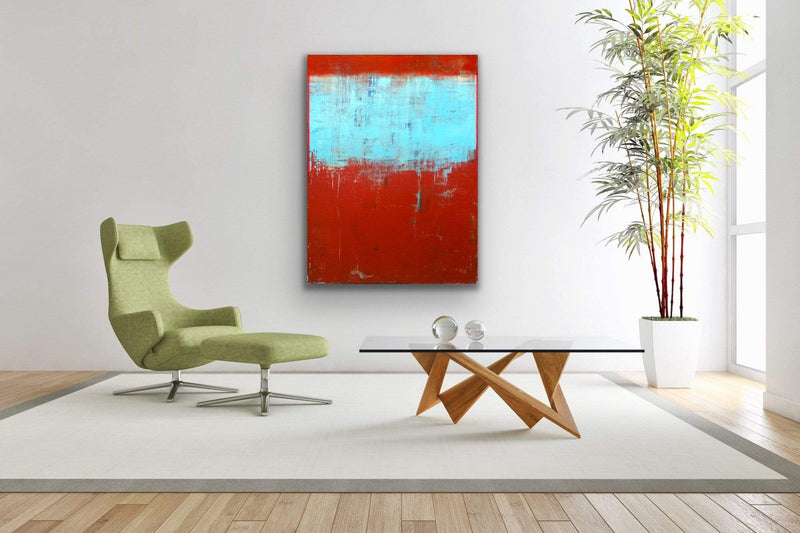 "Weathered In Red | 30""x40"""