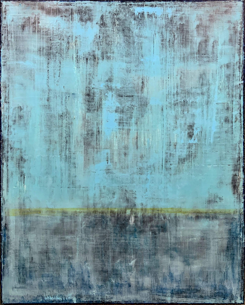 "Robert Tillberg Weathering The Blues | 60""x48"""