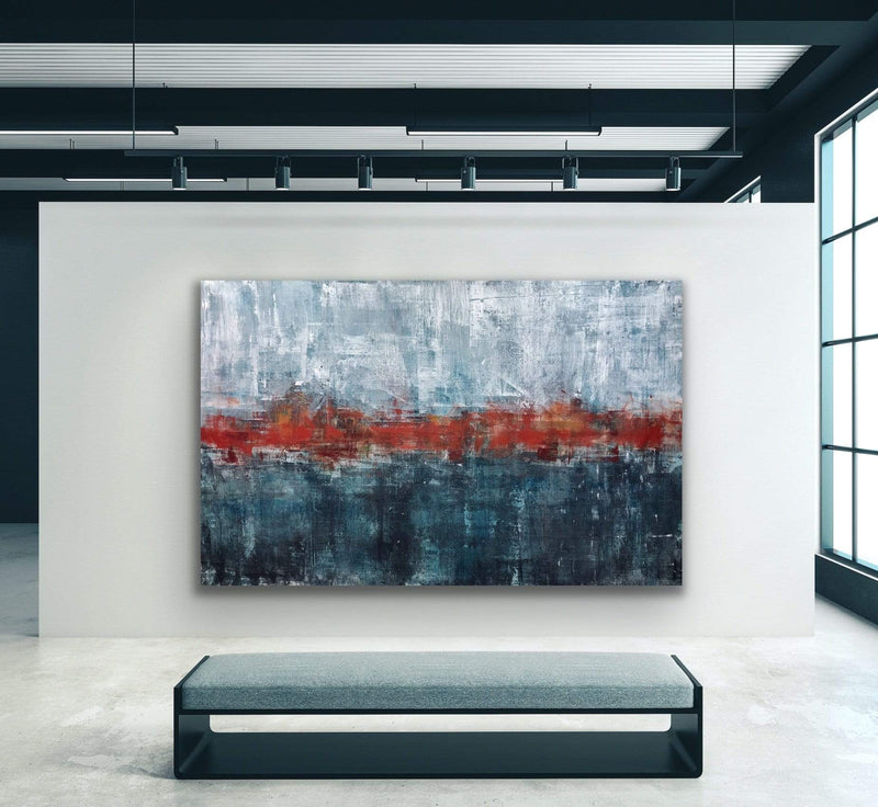 "Robert Tillberg When Autumn Meets Winter | 90""x58"""