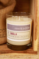 No. 104: VANILLA  // Natural Soy Candle // 13 oz // Highly Scented