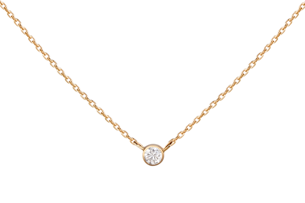 White Diamond Necklace