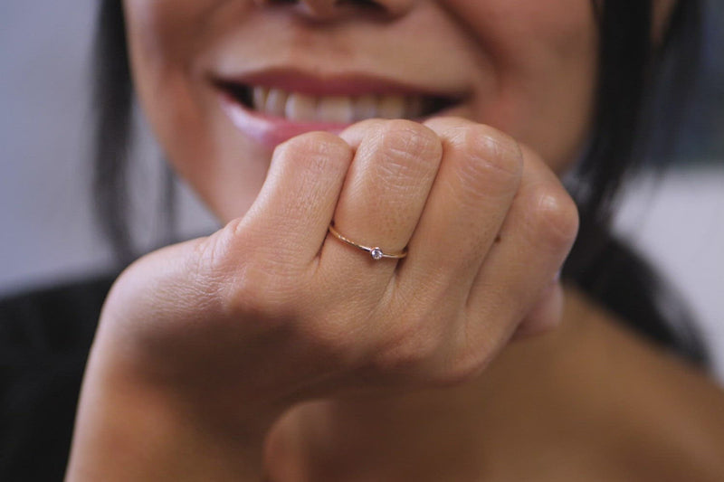 Mini Diamond Ring