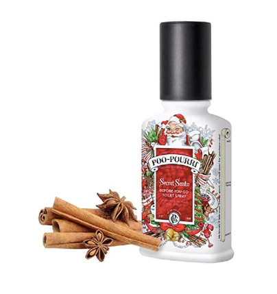 Secret Santa Claus Christmas Poo Pourri Bathroom Spray