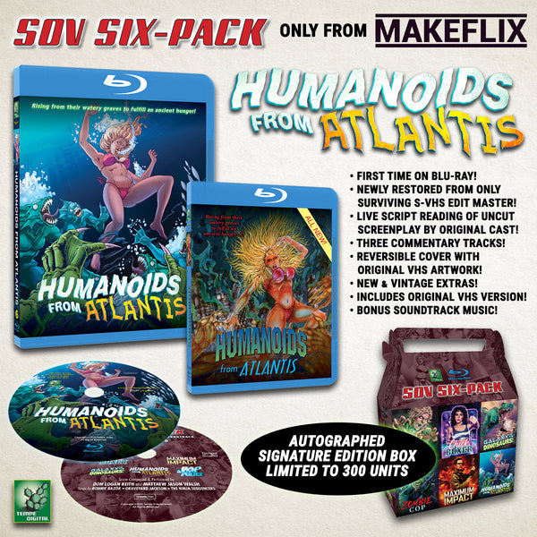 SOV SIX-PACK: Humanoids From Atlantis (1992)