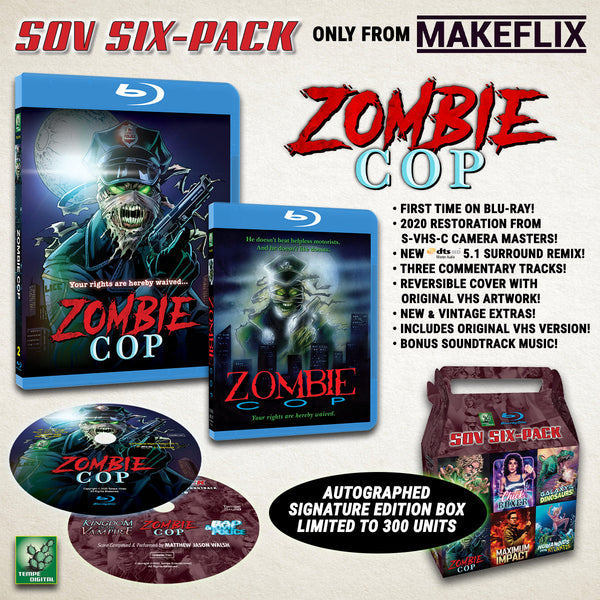 SOV SIX-PACK: Zombie Cop (1991)