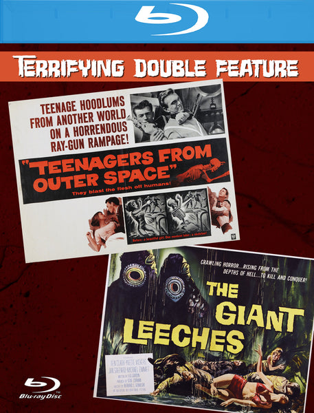 Teenagers From Outer Space & The Giant Leeches (Dbl Ftr)