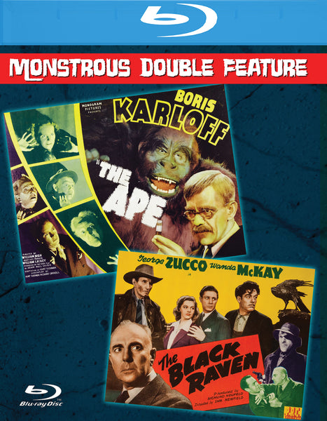The Ape & The Black Raven (Double Feature)