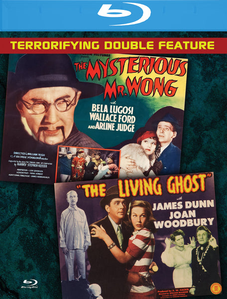 The Mysterious Mr. Wong & The Living Ghost (Double Feature)