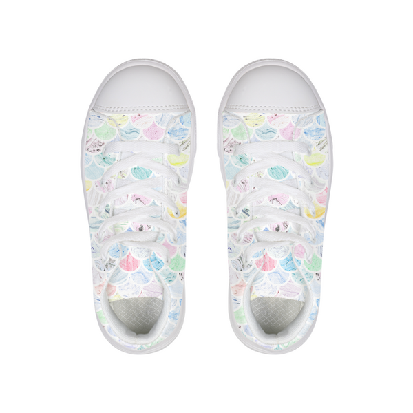 Marble Tiles Canvas Shoe - Complete Kid Shop