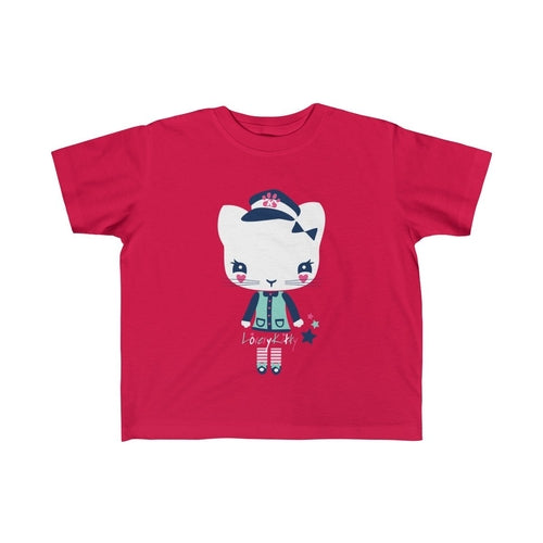Miss Lovely Kitten Girls Tee - Complete Kid Shop