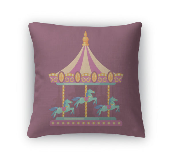Throw Pillow, Carnival Illustration - Complete Kid Shop