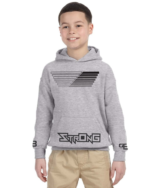 Peachy Brass 7 Strong Hoodie - Complete Kid Shop