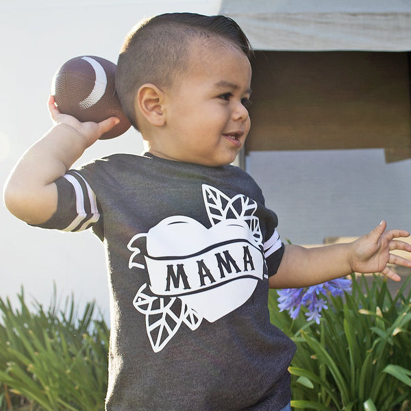 Mama Tattoo Heart - Tee/Jumpsuit - Complete Kid Shop