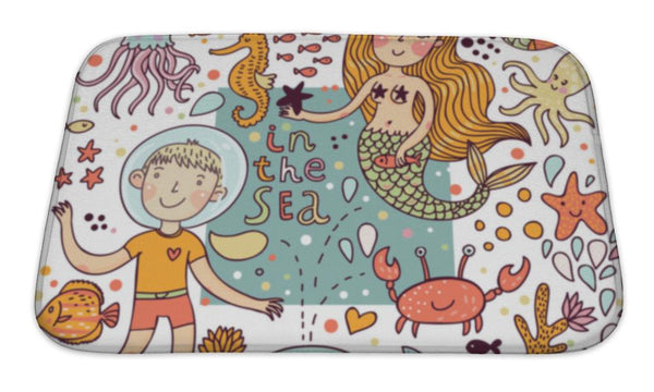 Bath Mat, Fun Sea Life - Complete Kid Shop