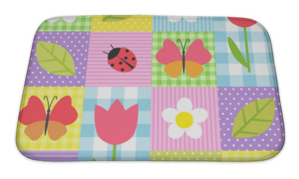 Bath Mat, Spring Pattern - Complete Kid Shop
