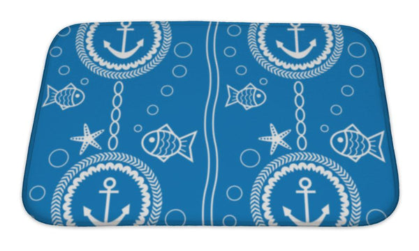 Bath Mat, Maritime - Complete Kid Shop