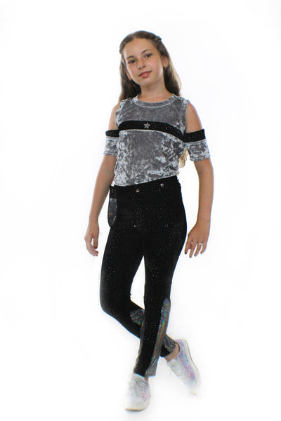 Glitter Stretch Velvet with Pocketwist™ - Complete Kid Shop