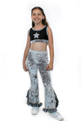 Lilo, little glitter crop Top - Complete Kid Shop