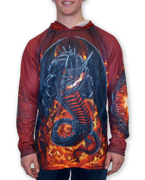 ROARING DRAGON Hoodie by MOUTHMAN® - Complete Kid Shop