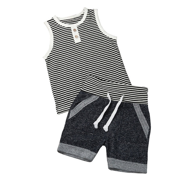 Summer Striped Set - Complete Kid Shop
