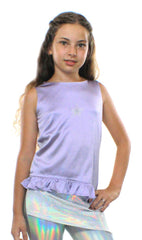 Willow, Asymmetric silk Blouse - Complete Kid Shop