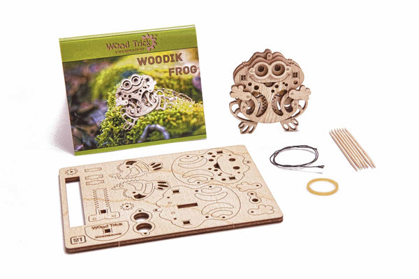 Woodik - Frog - Complete Kid Shop