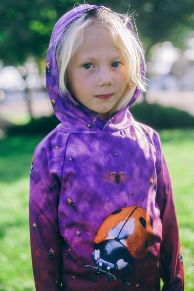 LADYBUG Hoodie Chomp Shirt by MOUTHMAN® - Complete Kid Shop