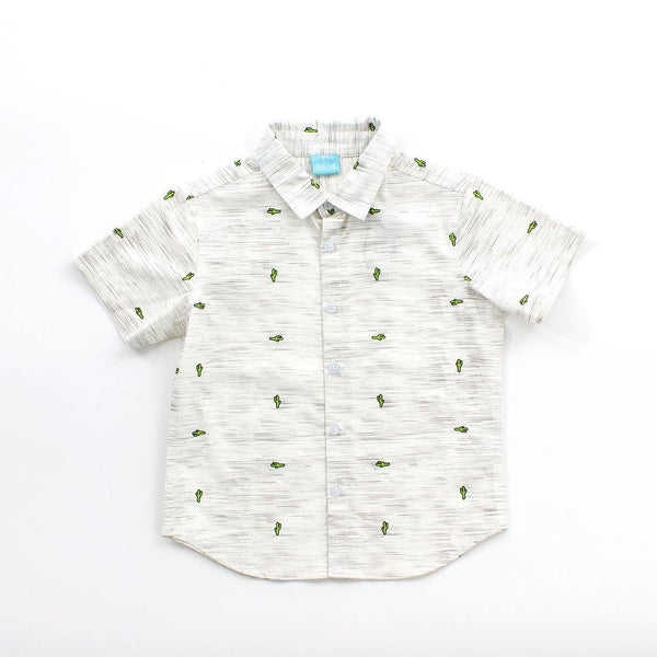 Gael Cactus Button Down - Complete Kid Shop