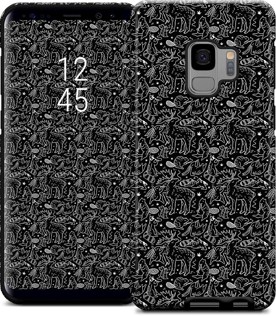 420 Friends Black Samsung Case