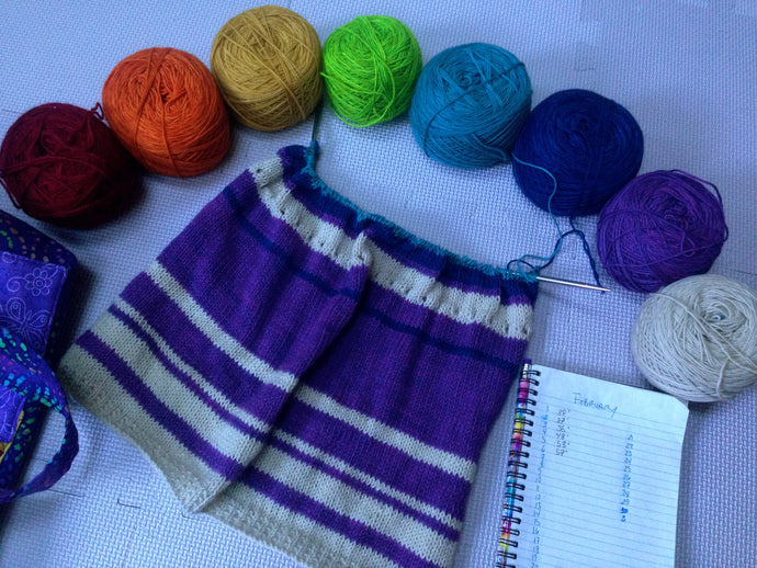 Temperature Prayer Shawl...A knitting recipe.