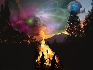 Mount Shasta Galactic Conjuring