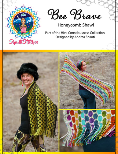 Bee Brave Shawl