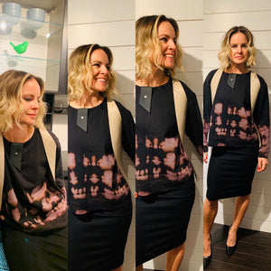 Leather Vest Profile Pocket M/L