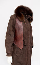 Load image into Gallery viewer, Leather Vest Profile Pocket M/L