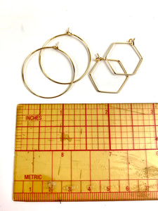 Dangle Earring Jewelry *Gold Plated