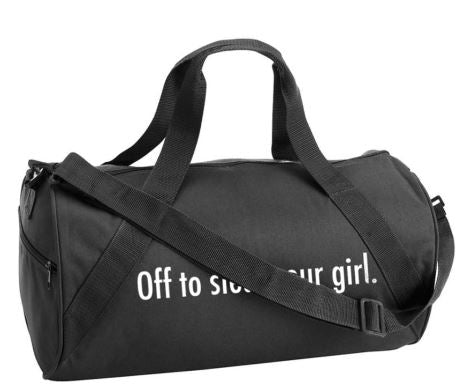 AO - DUFFEL - OFF TO STEAL YOUR GIRL