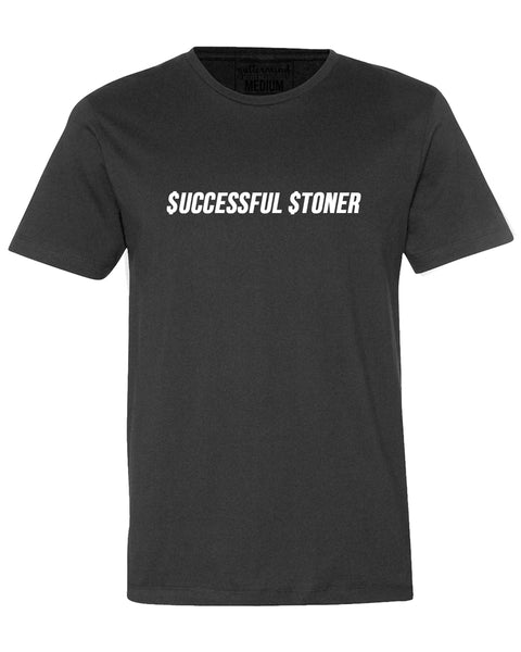 AO - SIMPLE TEE - SUCCESSFUL STONER