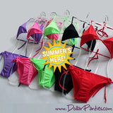 Splash Into Summer - Colorful 2 Piece BIKINI set