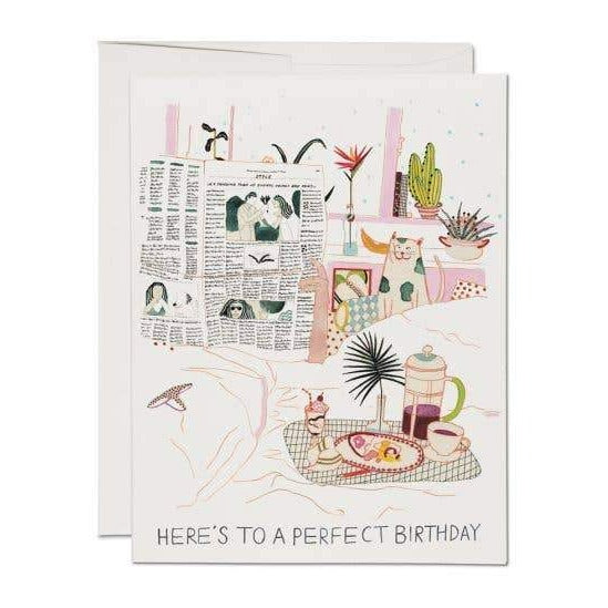 Here's To A Perfect Birthday Card