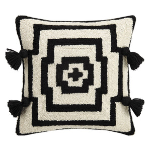 Black Tassel Pillow by Justina Blakeney