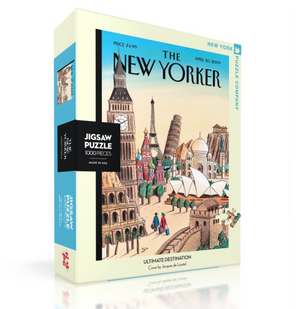 Ultimate Destination Puzzle - The New Yorker 1000pc