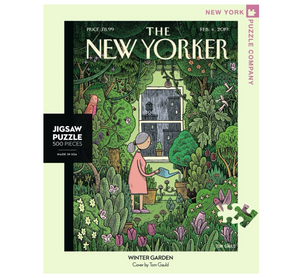Winter Garden Puzzle - The New Yorker 500pc