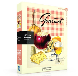Cheese Tasting Gourmet Puzzle 500pc