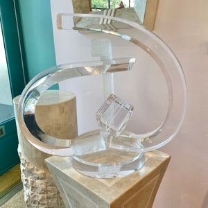 Vintage Lucite Sculpture by Acrylicore