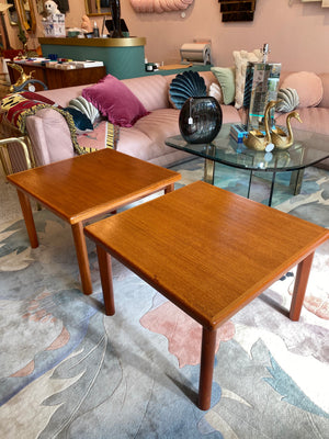Vintage Danish Teak Side Table