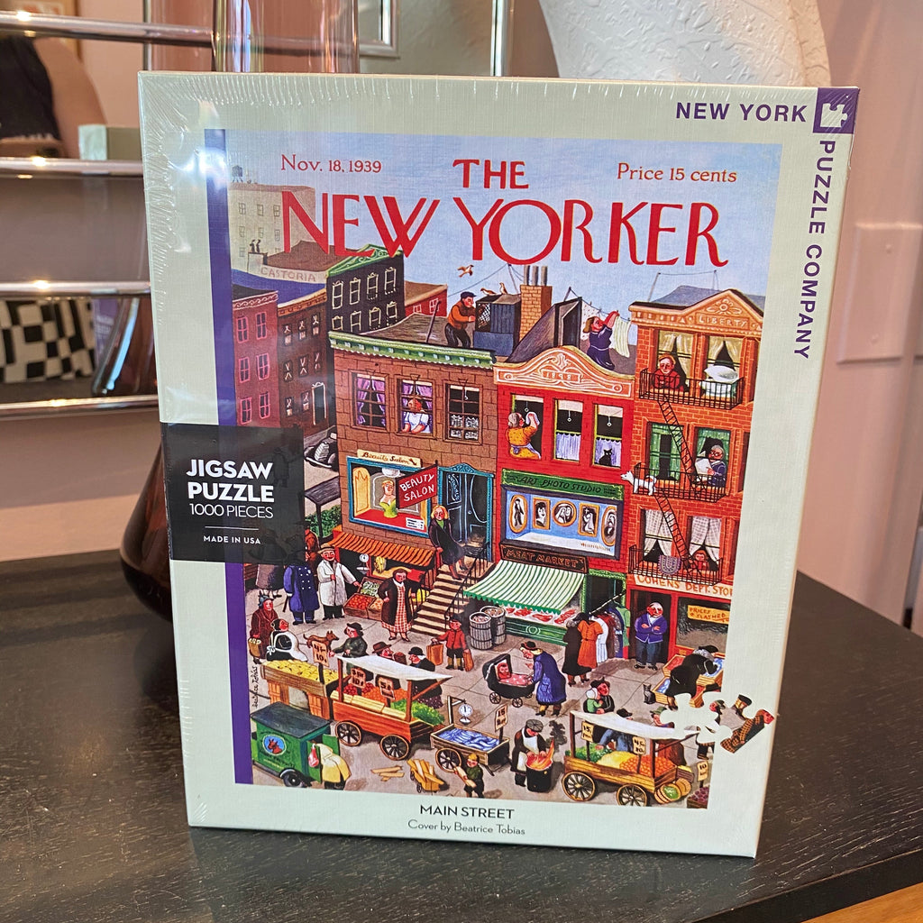 Main Street Puzzle - The New Yorker 1000pc