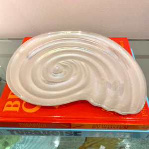 Vintage Opalescent Shell Dish